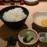 71111963 - 比内地鶏卵加計ご飯594円