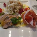 イル・フィオーレ - 料理写真:Cの前菜