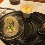 レストラン マノワ - 3種のマノワのアミューズ
