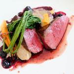 71113225 - 選べる主菜・肉 蝦夷鹿のロースト(+1,200)