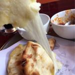 インド料理専門店 MUNA - 伸びる伸びる(笑)