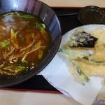 花鶴 - えび天カレーうどん(京風)