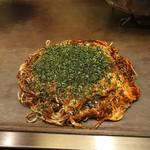 広島風お好焼き本舗 - スペシャル 肉、卵入り ¥1140