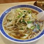 中華料理 大宝 - モヤシ麺 上空から