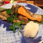 銀座米料亭 八代目儀兵衛 - 焼き魚アップ