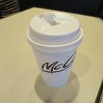 マクドナルド - ドリンク写真:プレミアムローストコーヒーS100円。