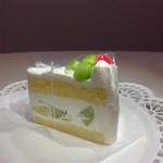 松之助 N.Y. - メロンのショートケーキ♡