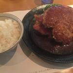 洋食の店 もなみ - Cセット(¥1480):チキンカツ