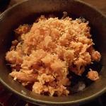 ふくべ - 鮭ほぐし丼500円