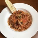 セミナーレ - 手切りのラグーボロネーゼスパゲッティ