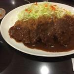 71123283 - 特選ヒレとんかつ定食(特大)(¥1100)