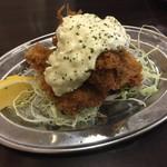 とんかつひろ喜 - 広島産カキフライ 単品(3ケ)(¥480)