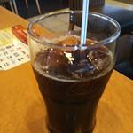 ガスト - ドリンクバー215円のアイスコーヒー