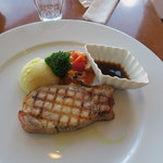 まきばレストラン - 厚切りローストポーク1,420円也