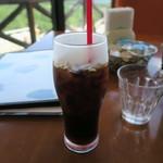 まきばレストラン - セットのアイスコーヒー