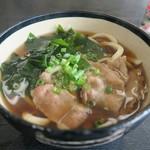 平九郎茶屋 - 肉うどん750円也