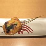 えびす坂 鳥幸 - モッツァレラ溜り醤油焼き