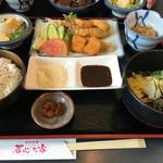 魚釣茶屋 居心ち家  - 海鮮フライ定食880円