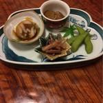 ふく鮨 - 料理写真:本日の御通し