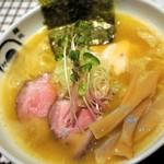 麺処 蛇の目屋 - 鶏白湯 800円