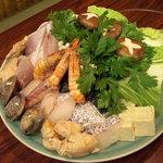 笹寿司 - 魚ちり
