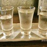 タチノミ 西宮 ツバメヤ 酒舗 - 利き酒セット
