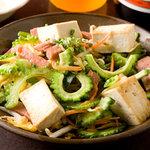 琉球沖縄料理とチャンプルー 花々 - どこよりも美味しい!本物の味「ゴーヤチャンプルー」