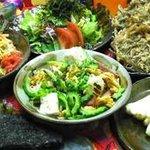 琉球沖縄料理とチャンプルー 花々 - 団体様のコース料理の一部(仕入れの状況により内容が変わります)