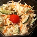 ティダキッチン - 料理写真:おからサラダ(180円)