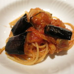 71131042 - 穴子と茄子トマト ニンニクのパスタ