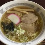 寒河江ダムドライブイン - 醤油ラーメン600円