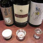 日本酒スタンド 酛 - 3種のみ比べセット