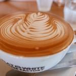 フラットホワイトコーヒーファクトリー - 【キャラメルラテ…580円】♫2017/7