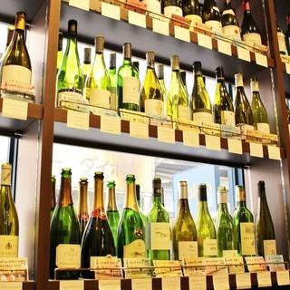 【こだわりワイン】お好きなワインをラックからお選びください◎