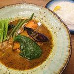 スープ カレー レストラン ゴーヤ - 料理写真: