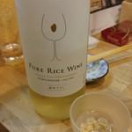 福島壱麺 - 福千歳 Pure Rice Wine(福井県)