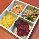 『千住の海老料理専門店』Shrimp Dining EBIZO 北千住 - お通し(税別300円)