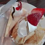 パティスリー シュクレ - チーズケーキとミルフィーユ