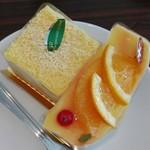 パティスリー シュクレ - マンゴーカマンベールチーズケーキ