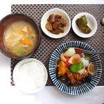 和チャイナ Roppongi - 酢豚定食 1250円