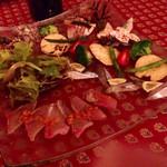 クッチーナ ラトリエ - 前菜盛り合わせ