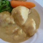 ラ・セール - 鶏肉のカレークリーム煮アップ