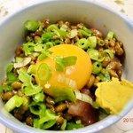 菊芳 - 納豆マグロ
