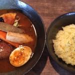 71140699 - 2017年7月 エソラ特製ハンバーグ野菜カリー 1200円(税込)