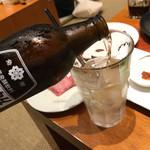 大阪焼肉 炭照 - ホッピー