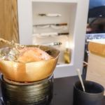 銀座 盡 - 料理写真:グツグツ蟹