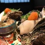 能登輪島 - 岩牡蠣980円