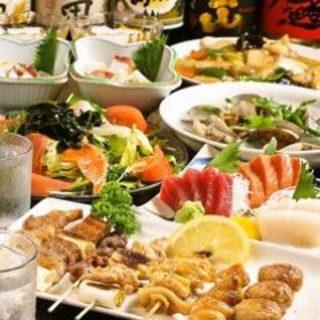 2時間3500円で刺身はもちろん全90品種が食べ放題(税込)