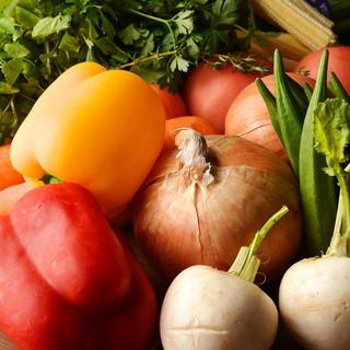 産地直送♪旬で新鮮なお野菜です♪