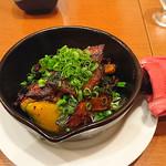 日本酒バル YODARE - 焼きカボチャサラダ